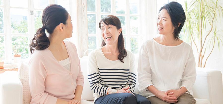 女性の変化に寄り添って笑顔が輝く社会へ