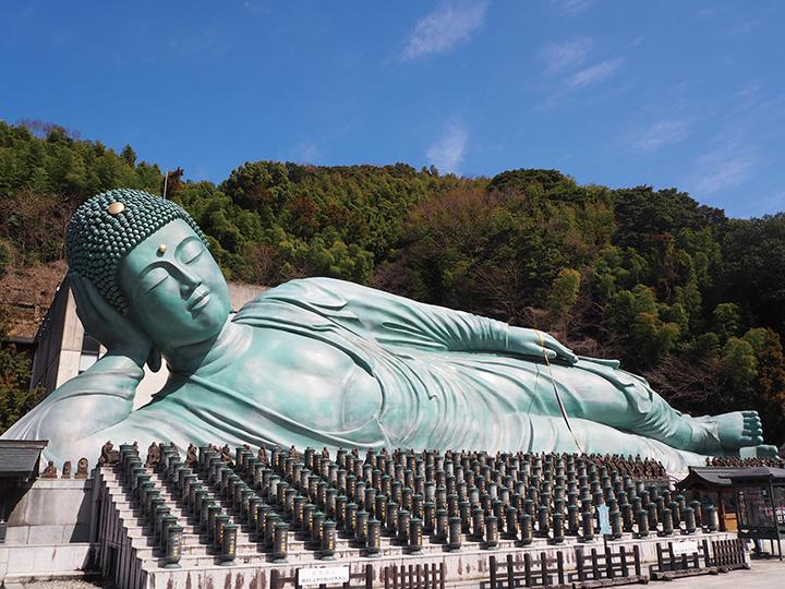 南蔵院の涅槃像