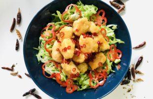 酸味と辛味のハーモニー♪ 鶏肉のスイートチリソース煮