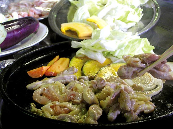 「みつせ鶏の焼き肉」の食べ放題
