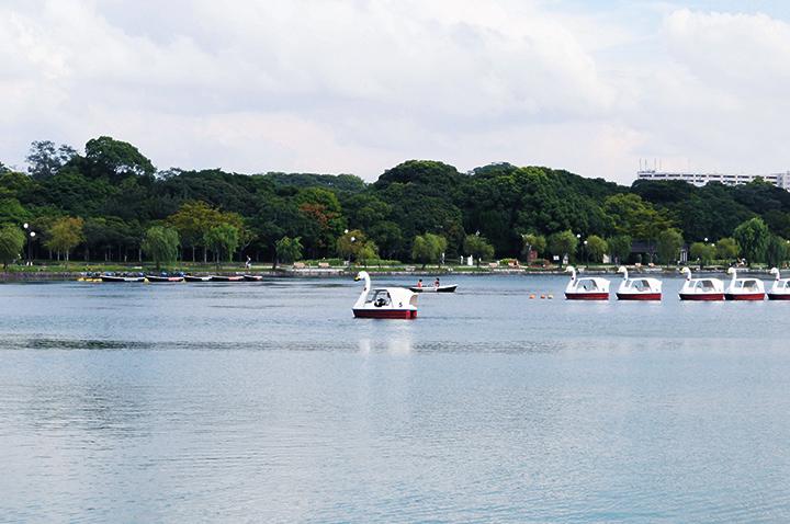 大濠公園の池