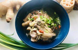 炊飯器で簡単!根野菜の体ぽかぽかサムゲタン