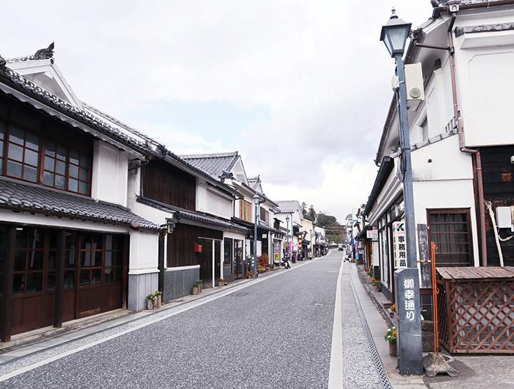 日田の町並み