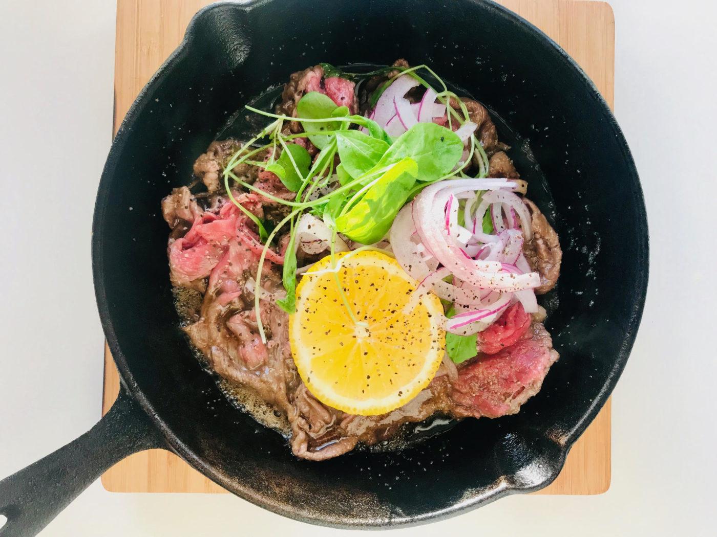 五感で味わう減塩レシピ♪長崎名物 レモンステーキ