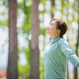 深呼吸の効能