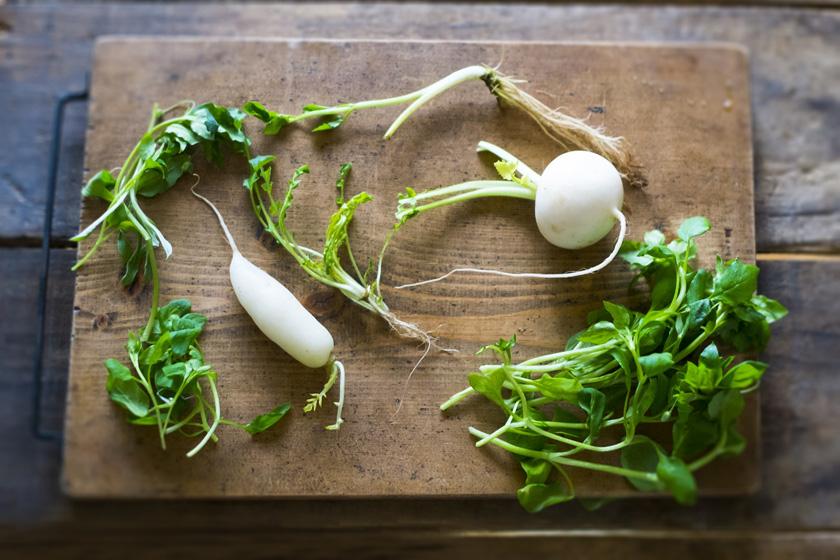 カブ、大根、白菜を使ったエイジングケアレシピ